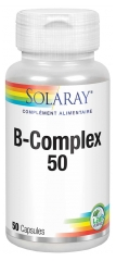 Solaray B-Complex 50 Gel-Caps