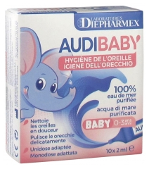 Audispray Audibaby Ear Hygiene 10 Single Doses