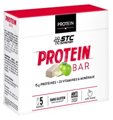 STC Nutrition High Protein Bars Apple Flavor 5 Bars x 45g