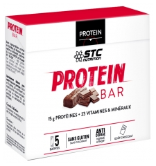 STC Nutrition Protein Bars Chocolate Flavor 5 Bars x 45g
