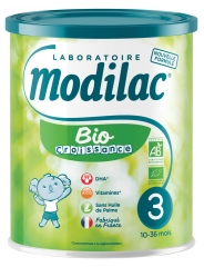 Modilac Bio Growth 3rd Age 10-36 Months 800g