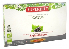Super Diet Organic Blackcurrant 20 Phials
