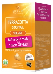 Biocyte Terracotta Cocktail Solaire Lot de 3 x 30 Comprimés