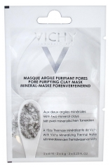 Vichy Pore Purifying Clay Mask 2 x 6ml