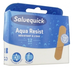 Salvequick Aqua Resist 12 Pansements