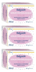 Cooper Babysoin Sérum Physiologique Lot de 3 x 30 Unidoses de 5 ml