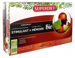 Super Diet Organic Ginkgo Boost 20 Phials