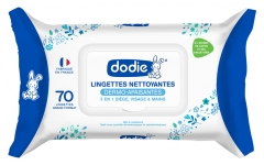 Dodie Dermo-Soothing Gentle Cleansing Wipes 70 Wipes