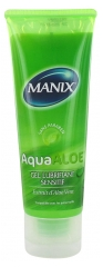 Manix Aqua Aloe Gel Lubrifiant Sensitif 80 ml