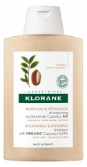 Klorane Nourishing and Repairing Shampoo with Organic Cupuaçu Butter 400ml