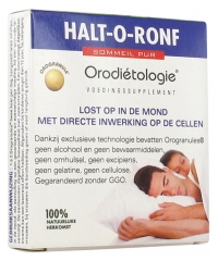 Laboratoires Zannini Pure Sleep Halt-O-Ronf 10 Orogranules