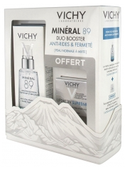 Vichy Minéral 89 Fortifying and Replumping Daily Booster 50ml + LiftActiv Supreme Continue Correction Care Normal To Combination Skin 15ml Free