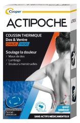 Cooper Actipoche Back & Stomach Microbeads 1 Thermal Cushion