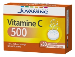 Juvamine Vitamin C 500 30 Effervescent Tablets