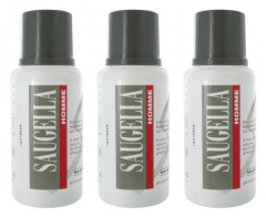 Saugella Men Cleansing Emulsion 3 x 200ml