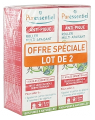 Puressentiel Anti-Pique Roller Multi-Apaisant Lot de 2 x 5 ml