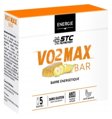 STC Nutrition VO2 MAX BAR 5 Barres Energétiques x 45 g