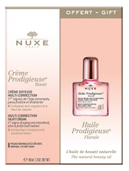 Nuxe Crème Prodigieuse Boost Multi-Korrektur-Seidencreme 40 ml + Extra-Soft Floral Face-Body-Hair Oil 10 ml Erhältlich
