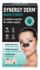 Incarose Synergy Derm Nose Strips Vegetable Charcoal 4 Patches
