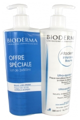 Bioderma Atoderm Intensive Ultra-Soothing Balm 2 x 500ml