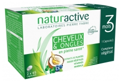 Naturactive Hair and Nails 2 x 45 Capsules