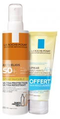 La Roche-Posay Anthelios Spray Invisible SPF 50+ 200 ml + Gel Lavant Offert