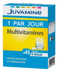 Juvamine 1 A Day Multivitamins 45 Capsules