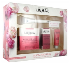 Lierac Box Supra Radiance Anti-Aging Radiance Gel-Creme Renovierung Anti-Ox