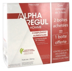 Arlor Natural Scientific Alpharegul Homme Lot de 3 x 60 Capsules