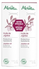 Melvita Jojoba Oil 2 x 50ml