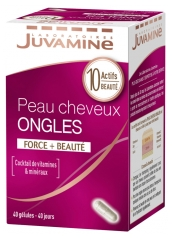 Juvamine Skin Hair Nails 40 Capsules