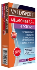 Valdispert Mélatonine 1,9 mg 4 Actions 30 Capsules