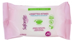 Saforelle Intimate Hygiene Wipes 10 Wipes