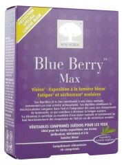 New Nordic Blue Berry Max 60 Tablets