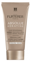 Furterer Absolue Kératine Renaissance Cure Ultimate Repair Mask Ultimate Repair Hair Ultimate Damaged Fragile 30 ml