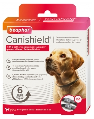 Beaphar Canishield Collier Grands Chiens 2 Colliers