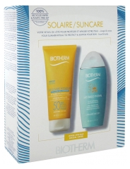 Biotherm Lait Solaire Hydratant SPF50 200 ml + Sun After Lait Oligo-Thermal 200 ml Offert