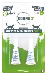 Biorepul s' Insect Repellent Pipettes Cats 2 Pipettes