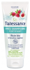 Natessance Organic Strengthening Castor Oil and Vegetable Keratin Conditioner 200ml