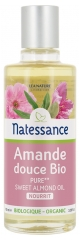 Natessance Organic Sweet Almond Oil 100ml
