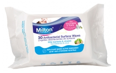 Milton Antibacterial Surface Wipes 30 Wipes