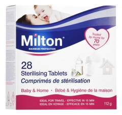 Milton Maximum Protection 28 Tablets