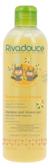 Rivadouce Les Loupiots Shampoo and Shower Gel Honey and Vanilla Fragrance 500ml