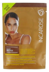 Incarose Maxi Bronze Self-Tanning Wipe Face and Décolleté 10ml