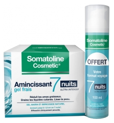 Somatoline Cosmetic Amincissant 7 Nuits Ultra Intensif Gel Frais 400 ml + Format Voyage 100 ml Offert