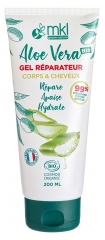 MKL Green Nature Aloe Vera Gel Réparateur Corps & Cheveux Bio 200 ml