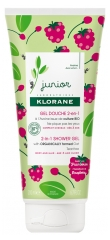 Klorane Junior 2in1 Shower Gel Body and Hair 200 ml