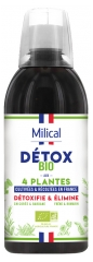 Milical Organic Detox with 4 Plants 500ml