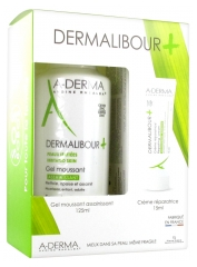 Aderma Dermalibour+ Foaming Gel 125ml + Repairing Cream 15ml