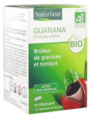 Naturland Organic Guarana 75 Vegecaps